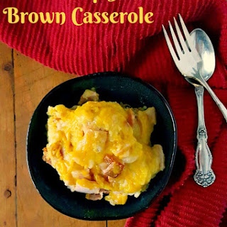 Bubble Up Hot Brown Casserole