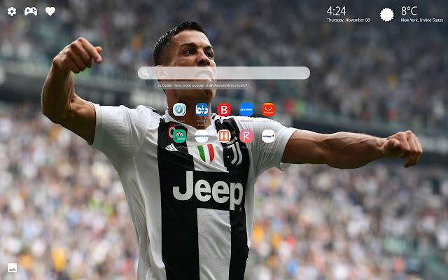 Cristiano Ronaldo CR7 Themes New Tab