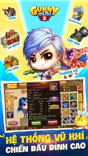 Gunny Mobi - Bu1eafn Gu00e0 Teen & Cute 3.0.1.0 screenshots 2