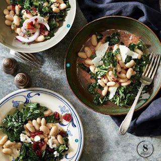 Weight Watchers Lemon-Herb White Bean And Kale Salad