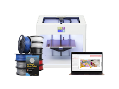 Craftbot 3D Printer Educational Bundle - White CraftBot PLUS