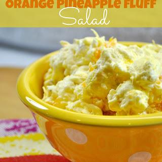 Orange Pineapple Fluff Salad Recipe