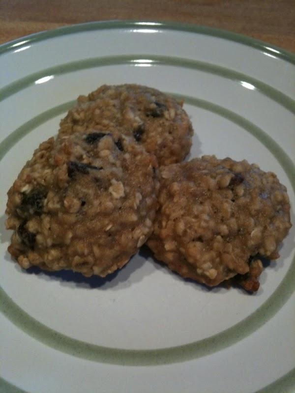 Banana Oatmeal Raisin Cookies Recipe