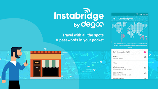 Free WiFi Passwords & Hotspots by Instabridge 3