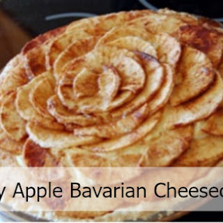 Bavarian Apple Cheesecake