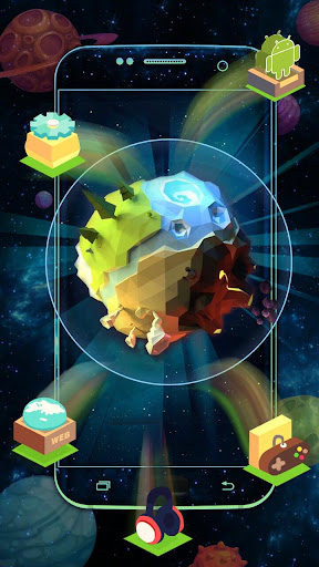 earth element 3d theme screenshot 1