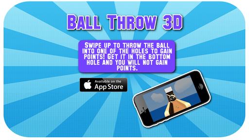 Ball Throw 3D