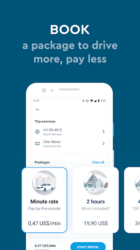 SHARE NOW - formerly car2go and DriveNow 4.19.0 Screenshots 4