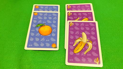 パジャラコス:果物カード