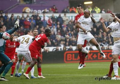 Malgré un but de Benteke, Liverpool s'incline à Swansea