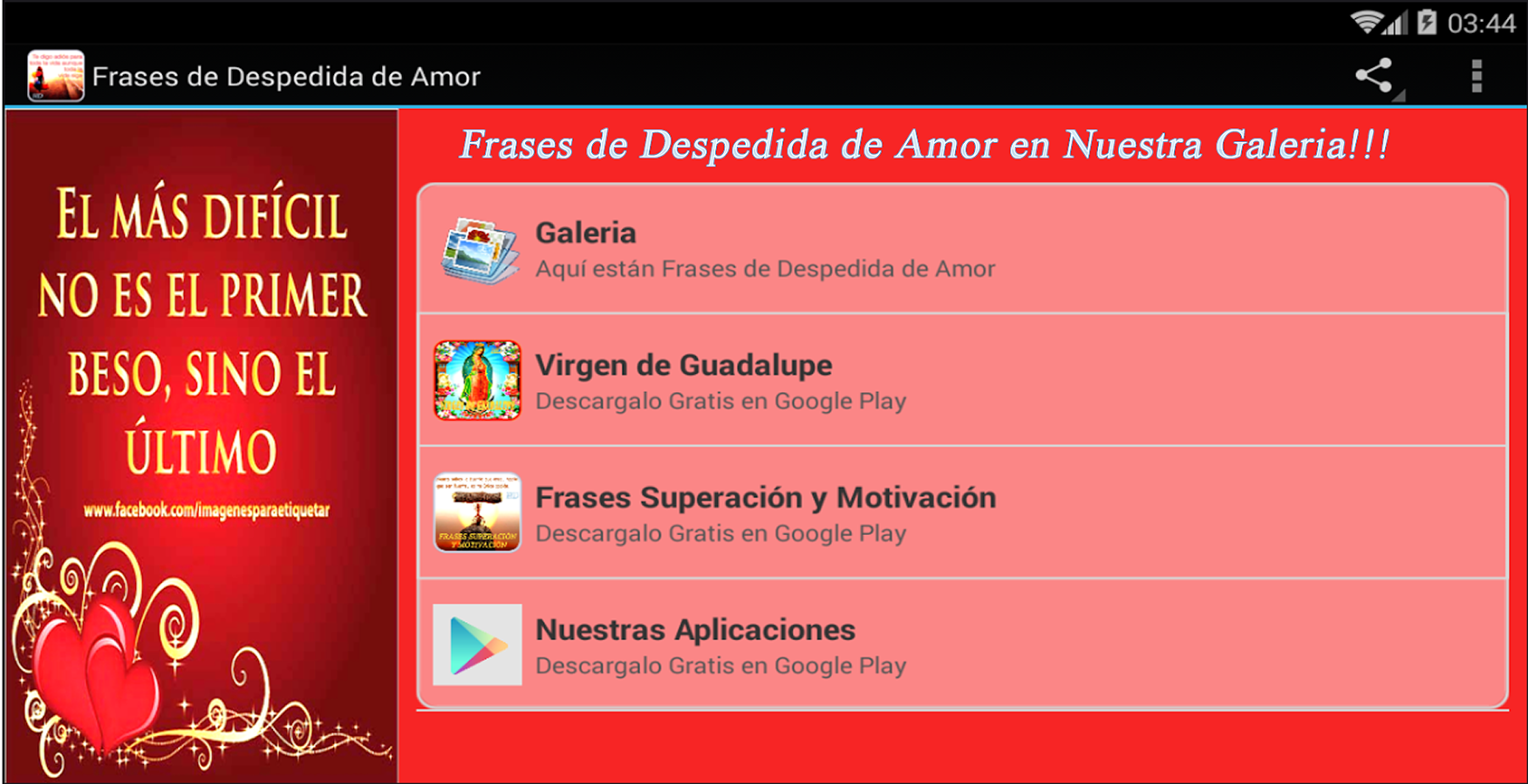 Frases de Despedida de Amor screenshot