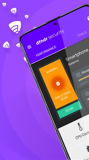 dfndr security: antivirus, anti-hacking & cleaner screenshot 1