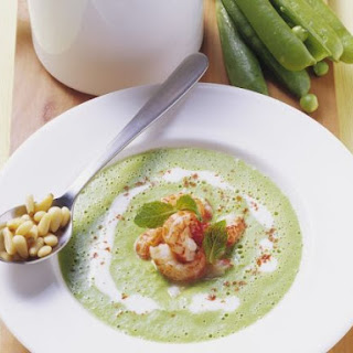 Chilled Garden Pea Soup