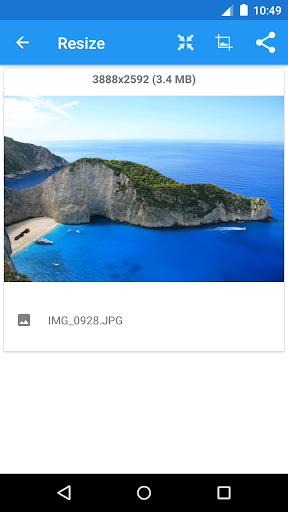 Photo & Picture Resizer 1.0.200 screenshots 2