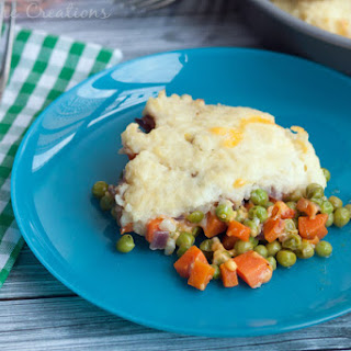 Vegetarian Ranch Shepherds Pie