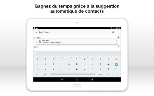 Mail Orange, 1er mail français screenshot 20