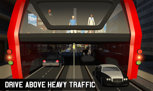 Elevated Bus Simulator: Futuristic City Bus Games 2.2 screenshots 2