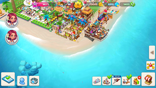 My Little Paradise : Resort Management Game android2mod screenshots 8