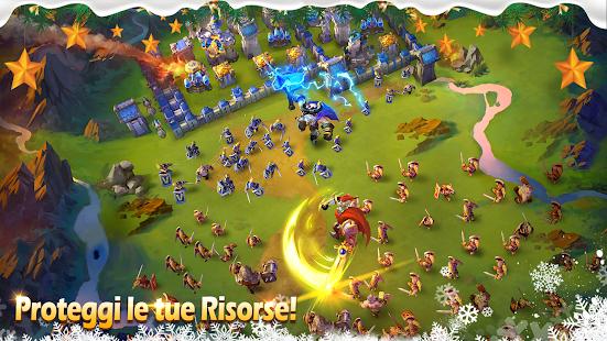 Castle Clash: Squadre Valorose - náhled