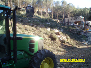 Photo: Limpieza de terreno en Canyelles