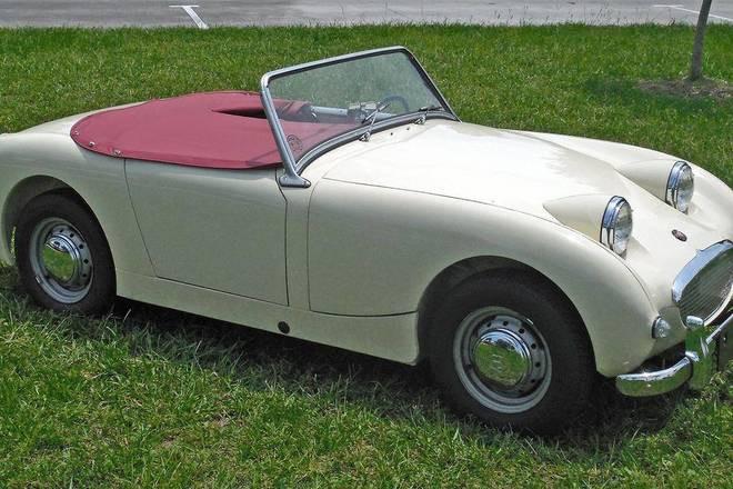 1961 Bug Eye Sprite Austin-Healey Hire San Ramon
