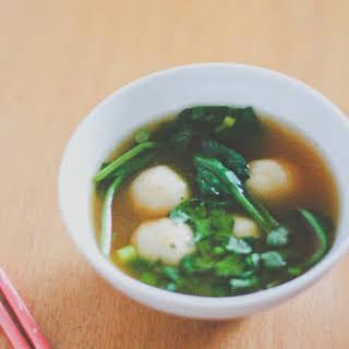 Fish Ball Soup.