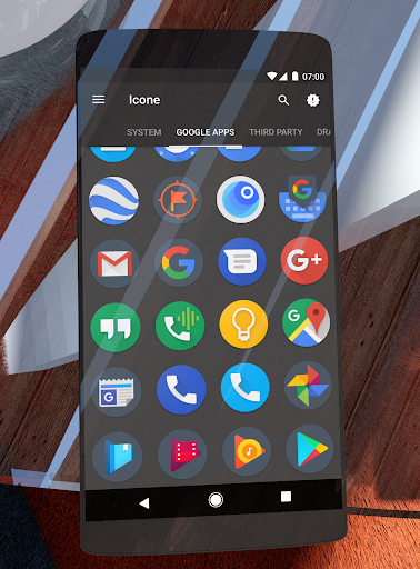 Screenshot for Dark Pixel Icon Pack,Nova/Apex in United States Play Store