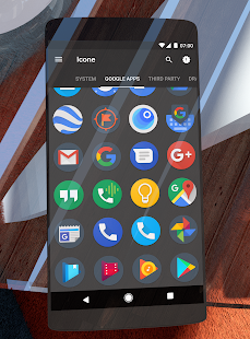 Dark Pixel Icon Pack,Nova/Apex Screenshot