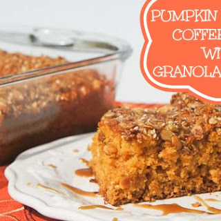 Pumpkin Caramel Coffee Cake