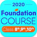 Foundation Course Class 10 9 8 icon