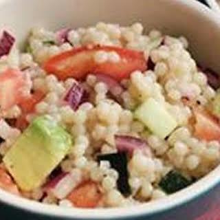 Cold Couscous Pasta Salad.