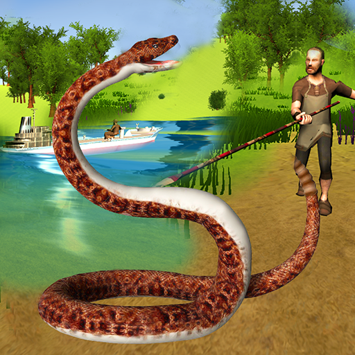 Hungry Anaconda Snake Sim 3D