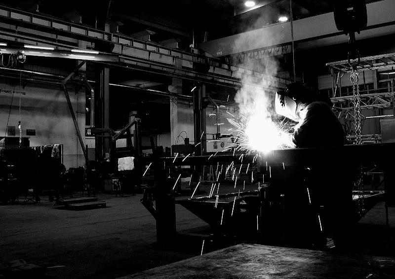 Saldature in fabbrica di Andrea F