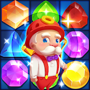 Grandpa's Gems - Match Free Games