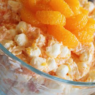 Fluffy Orange Jello Salad.