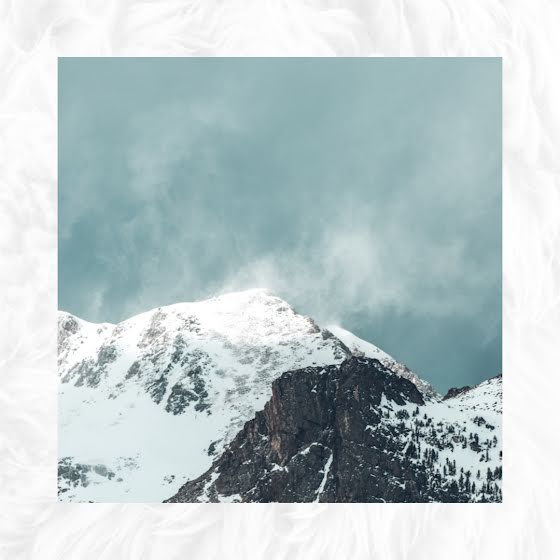 Snow Capped Mountains - Instagram Post Template