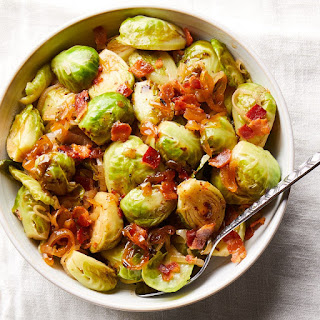 Cider-Braised Brussels Sprouts with Bacon Recipe