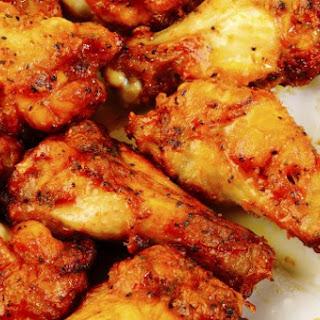 Bethenny's Zesty Baked Chicken Wings