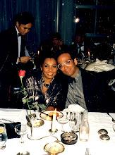 Photo: Elegance epitomized! Marina & DK @ the Carlton 1986.