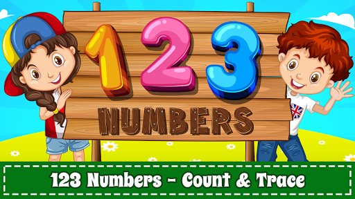 Learn Numbers 123 Kids Free Game - Count & Tracing 2.9 screenshots 1