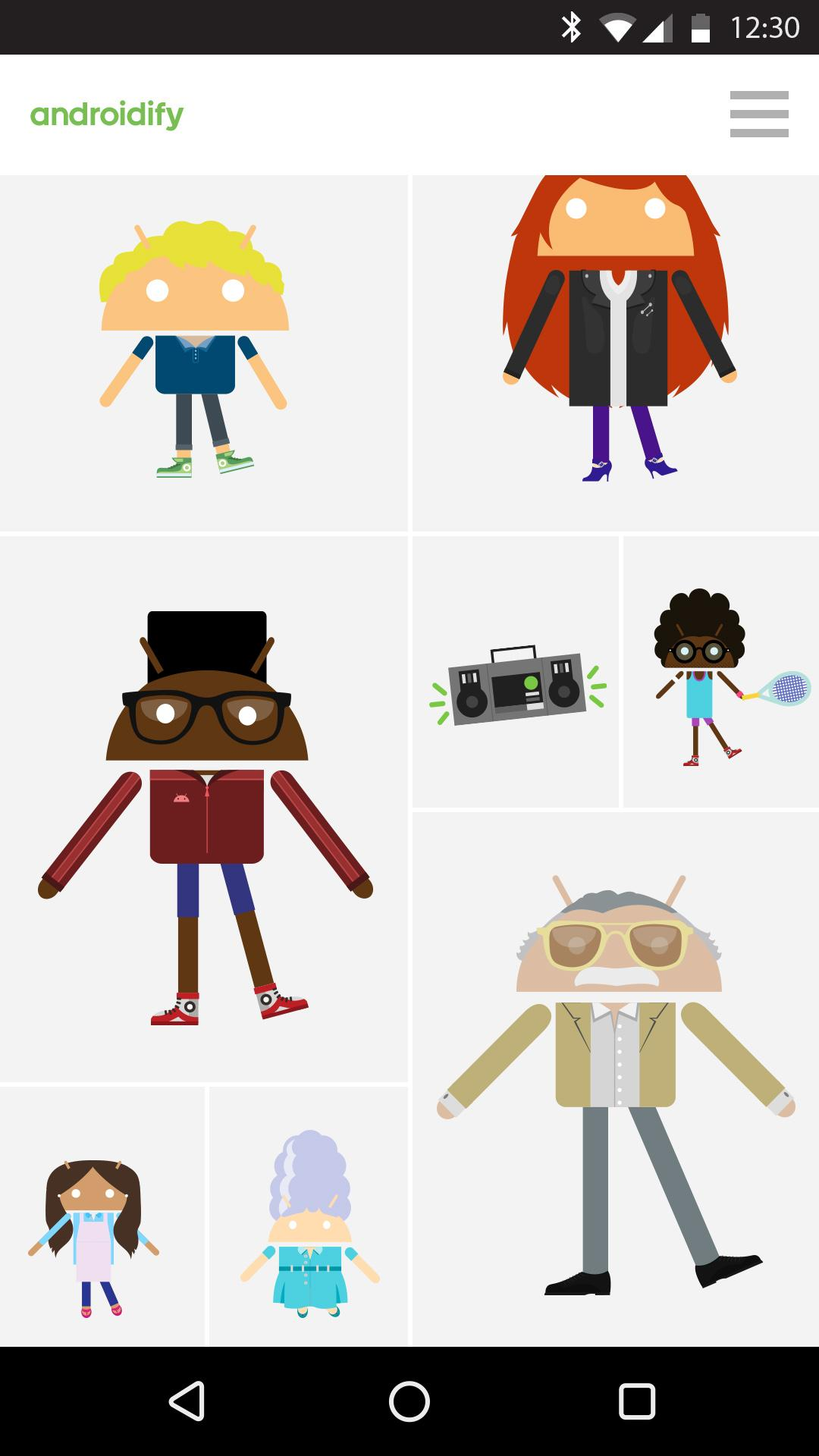 Androidify screenshot #6