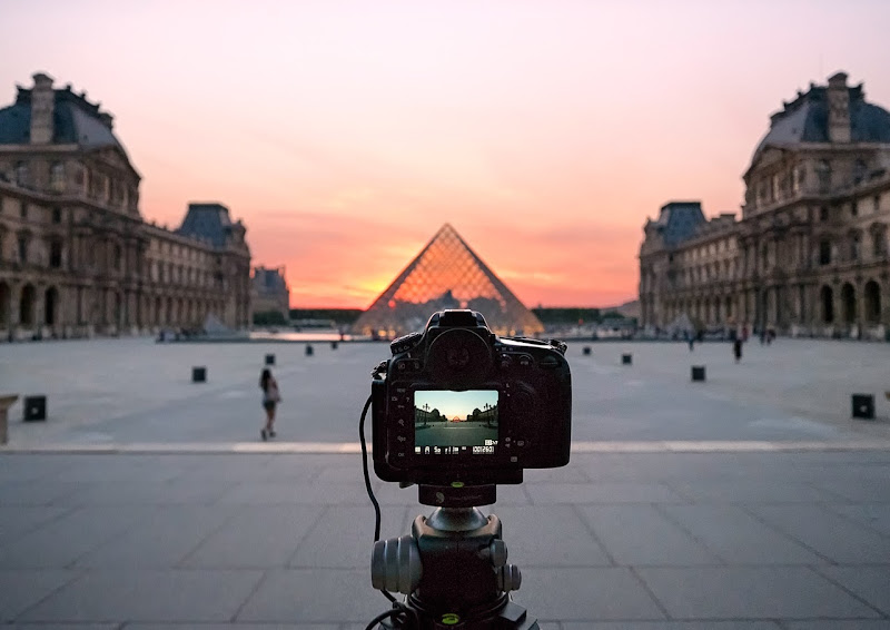 Photo: The Moments Between || A Louvre Sunset