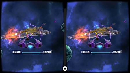 Deep Space Battle VR APK screenshot thumbnail 2