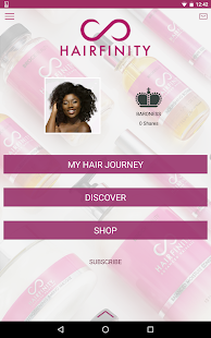 Hairfinity- screenshot thumbnail
