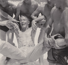 Photo: Basil Gwen. Beach Party.  Ft. Myers, FL.  Spring 1942.
