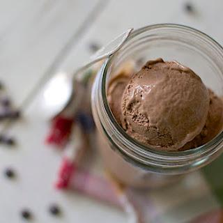Creamy Chocolate Coconut Milk Ice Cream.