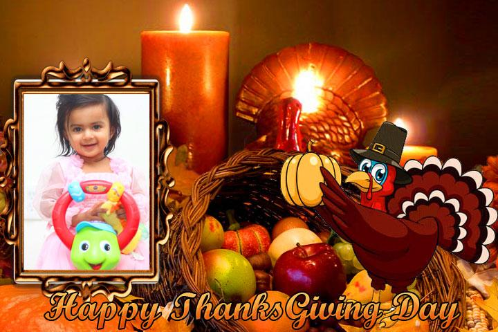android Thanksgiving Day Photo Frames Screenshot 4