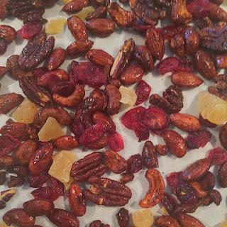 Pomegranate Pistachio Bark