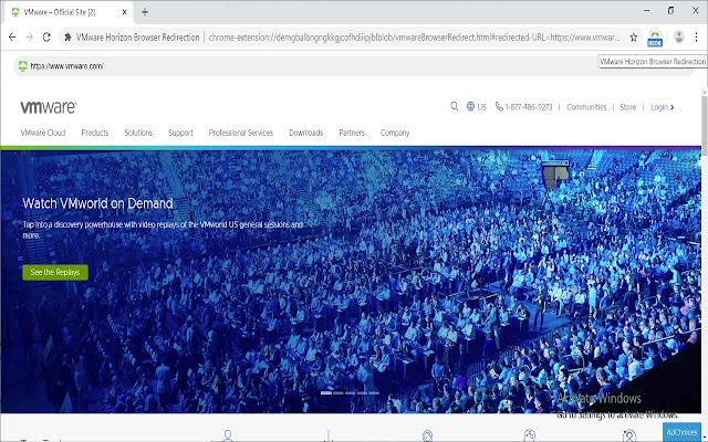 VMware Horizon Browser Redirection