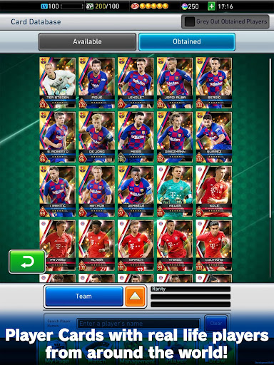 PES CARD COLLECTION apkdebit screenshots 8